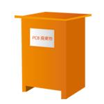 オレンジボックスイラストアイコン