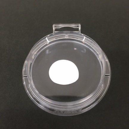 クリーム状試料の透過率測定