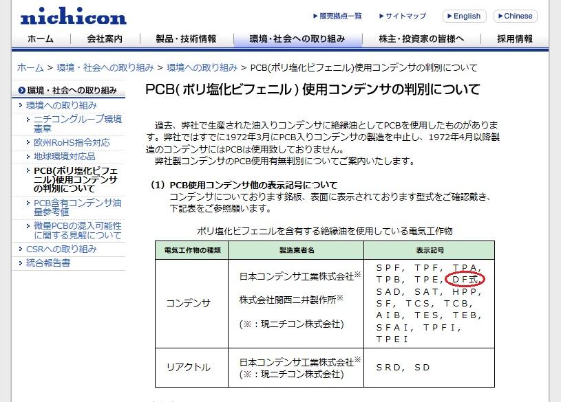 Pcb ニチコン