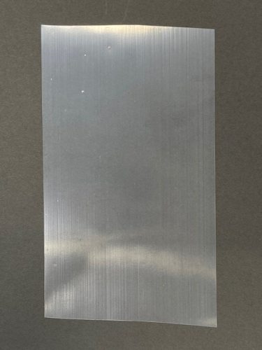 プラスチックシートの紫外線透過率測定
