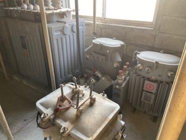 変圧器&コンデンサ油採取