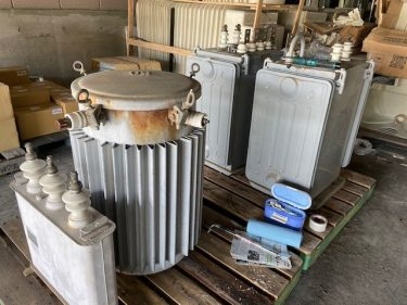 絶縁油採取及びPCB濃度分析